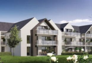 Vue de synthèse de la résidence Horizon Marine à Damgan par Immo Golfe Bretagne