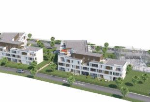 Vue en 3D de la résidence Symphonie à Auray par Immo Golfe Bretagne