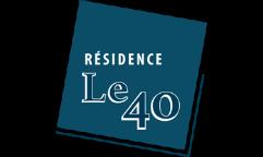 Logo de la résidence Le 40 à Vannes par Immo Golfe Bretagne