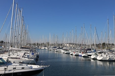 Photographie du port de Damgan dans le Morbihan