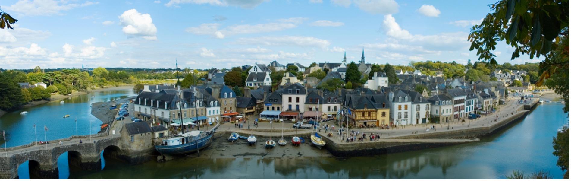 Photographie du port de Saint Goustan à Auray