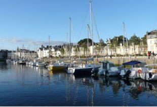 Photographie du port de Vannes dans le Golfe du Morbihan