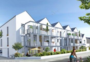 Vue de synthèse de la résidence Alréville à Auray par Immo Golfe Bretagne