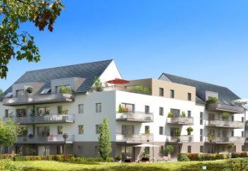 Vue de synthèse de la résidence Belle Ile à Auray par Immo Golfe Bretagne