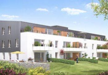 Vue de synthèse de la résidence Le Parc du Manoir à Plescop par Immo Golfe Bretagne