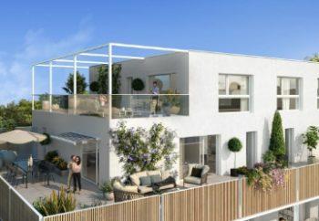Vue de synthèse de la résidence Le Parc Emeraude à Vannes par Immo Golfe Bretagne